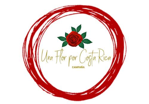 Logo Una Flor por Costa Rica